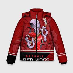Куртка зимняя для мальчика Detroit Red Wings цвета 3D-черный — фото 1