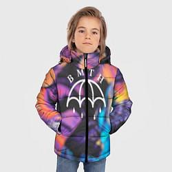 Куртка зимняя для мальчика BMTH Rain цвета 3D-черный — фото 2