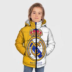 Куртка зимняя для мальчика Real Madrid CF цвета 3D-черный — фото 2