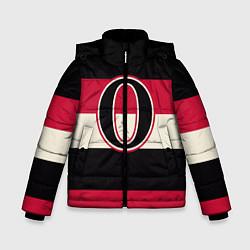 Куртка зимняя для мальчика Ottawa Senators O цвета 3D-черный — фото 1