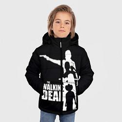 Куртка зимняя для мальчика Walking Dead: Family цвета 3D-черный — фото 2