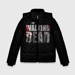 Куртка зимняя для мальчика The Walking Dead: RIck цвета 3D-черный — фото 1