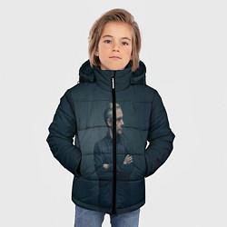Куртка зимняя для мальчика Доктор в рубашке цвета 3D-черный — фото 2