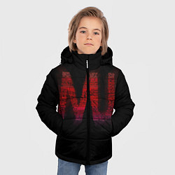 Куртка зимняя для мальчика Manchester United team - фото 2