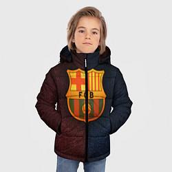 Куртка зимняя для мальчика Barcelona8 цвета 3D-черный — фото 2