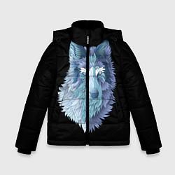 Куртка зимняя для мальчика Седой волк цвета 3D-черный — фото 1