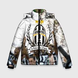 Куртка зимняя для мальчика Juventus5 цвета 3D-черный — фото 1