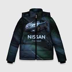 Куртка зимняя для мальчика Nissan the best цвета 3D-черный — фото 1