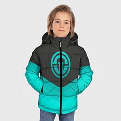 Куртка зимняя для мальчика Immortals Uniform цвета 3D-черный — фото 2