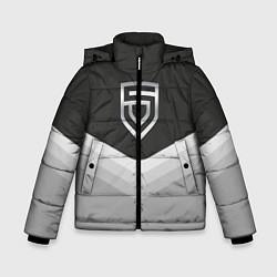 Куртка зимняя для мальчика Penta Uniform цвета 3D-черный — фото 1