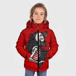 Куртка зимняя для мальчика Wolf Rage цвета 3D-черный — фото 2