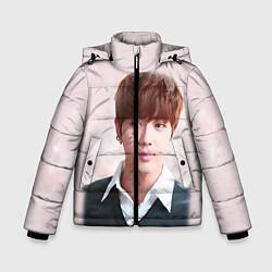 Куртка зимняя для мальчика Kim SeokJin цвета 3D-черный — фото 1