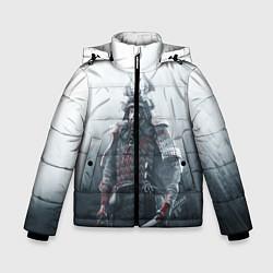 Детская зимняя куртка для мальчика с принтом Shadow Tactics, цвет: 3D-черный, артикул: 10115409206063 — фото 1