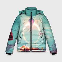 Куртка зимняя для мальчика No Mans Sky цвета 3D-черный — фото 1