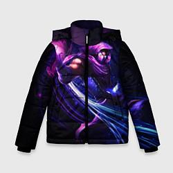 Куртка зимняя для мальчика Malzahar цвета 3D-черный — фото 1