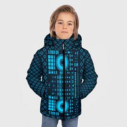 Детская зимняя куртка для мальчика с принтом DJ Vinyl, цвет: 3D-черный, артикул: 10117481306063 — фото 2