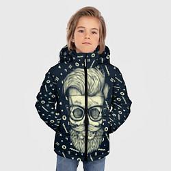 Куртка зимняя для мальчика Hipster is Dead цвета 3D-черный — фото 2