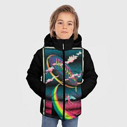 Куртка зимняя для мальчика Led Zeppelin: Colour Fly - фото 2