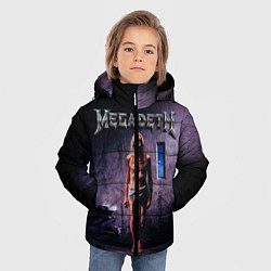 Куртка зимняя для мальчика Megadeth: Madness цвета 3D-черный — фото 2