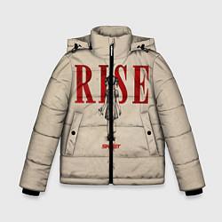 Куртка зимняя для мальчика Skillet: Rise цвета 3D-черный — фото 1