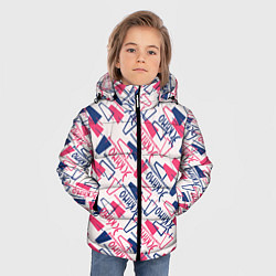 Куртка зимняя для мальчика Эскимо цвета 3D-черный — фото 2