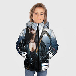Куртка зимняя для мальчика Гробовщик 1 цвета 3D-черный — фото 2