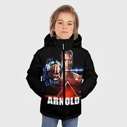 Куртка зимняя для мальчика Iron Arnold цвета 3D-черный — фото 2