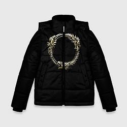 Куртка зимняя для мальчика TES 8 цвета 3D-черный — фото 1