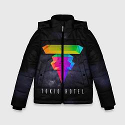 Куртка зимняя для мальчика Tokio Hotel: New Symbol цвета 3D-черный — фото 1