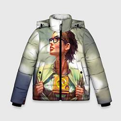 Куртка зимняя для мальчика HL: Alyx Vance цвета 3D-черный — фото 1
