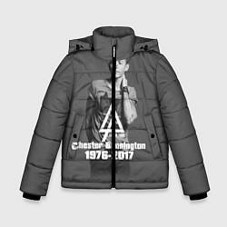 Куртка зимняя для мальчика Память о Беннингтоне цвета 3D-черный — фото 1