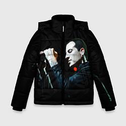 Куртка зимняя для мальчика Честер на сцене цвета 3D-черный — фото 1