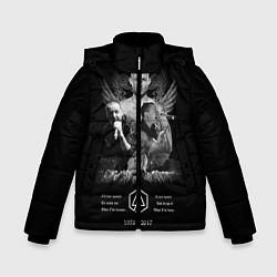 Куртка зимняя для мальчика Bennington Memories цвета 3D-черный — фото 1