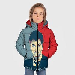 Куртка зимняя для мальчика ALLONS-Y! цвета 3D-черный — фото 2