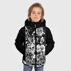 Куртка зимняя для мальчика Dethklok: Metalocalypse цвета 3D-черный — фото 2