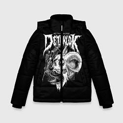 Детская зимняя куртка для мальчика с принтом Dethklok: Goat Skull, цвет: 3D-черный, артикул: 10134390306063 — фото 1