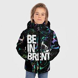 Детская зимняя куртка для мальчика с принтом Be in brent, цвет: 3D-черный, артикул: 10134592706063 — фото 2