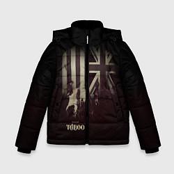 Куртка зимняя для мальчика Taboo London цвета 3D-черный — фото 1