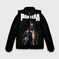 Куртка зимняя для мальчика Pantera #13 цвета 3D-черный — фото 1