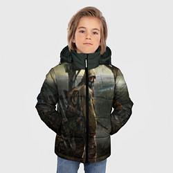 Детская зимняя куртка для мальчика с принтом STALKER: Call of Pripyat, цвет: 3D-черный, артикул: 10135203906063 — фото 2