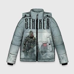 Детская зимняя куртка для мальчика с принтом STALKER: Dusk, цвет: 3D-черный, артикул: 10135204306063 — фото 1
