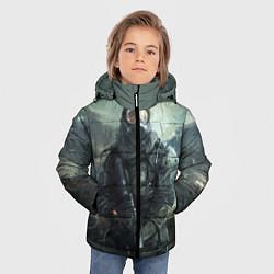 Куртка зимняя для мальчика STALKER цвета 3D-черный — фото 2