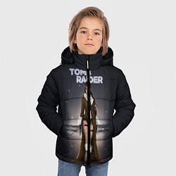 Куртка зимняя для мальчика TOMB RAIDER цвета 3D-черный — фото 2