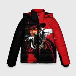 Куртка зимняя для мальчика Red Dead Redemption цвета 3D-черный — фото 1