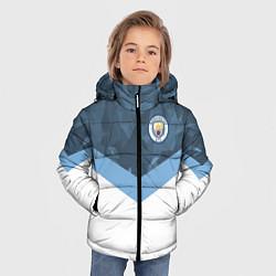 Куртка зимняя для мальчика Manchester City FC: Sport цвета 3D-черный — фото 2