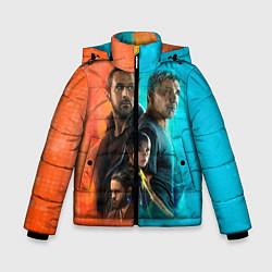 Куртка зимняя для мальчика Blade Runner Heroes цвета 3D-черный — фото 1