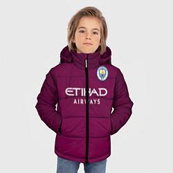 Детская зимняя куртка для мальчика с принтом Man City FC: Away 17/18, цвет: 3D-черный, артикул: 10137896106063 — фото 2