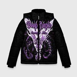 Куртка зимняя для мальчика Deep Purple: Greatest Hits цвета 3D-черный — фото 1