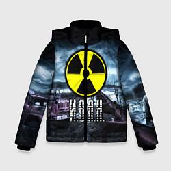 Куртка зимняя для мальчика S.T.A.L.K.E.R: Иван цвета 3D-черный — фото 1