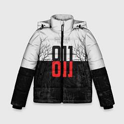 Куртка зимняя для мальчика Stranger Things 011 цвета 3D-черный — фото 1